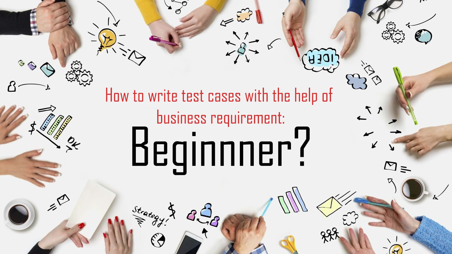 how to write test cases