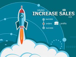 Increased Sales Illustration