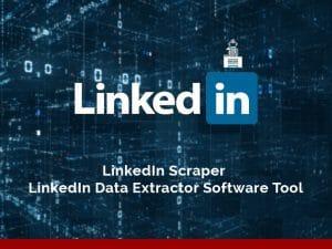 LinkedIn data scraping